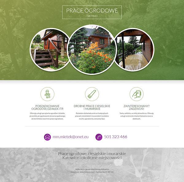 Prace ogrodowe Katowice